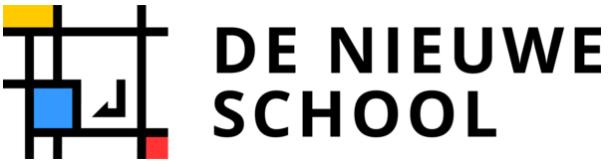 Logo de nieuwe school